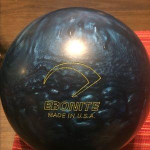 Ebonite Nitro Bowling Ball
